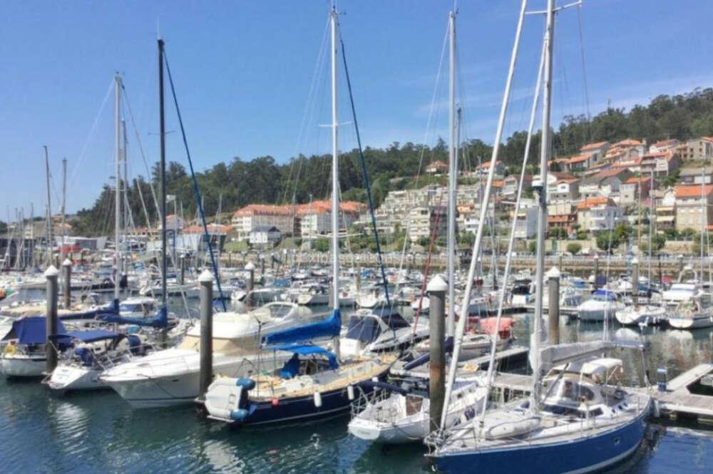 Puerto deportivo de Combarro