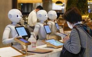 Robot asistente japonés. EFE