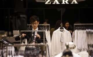 Establecimiento de Zara en Asia