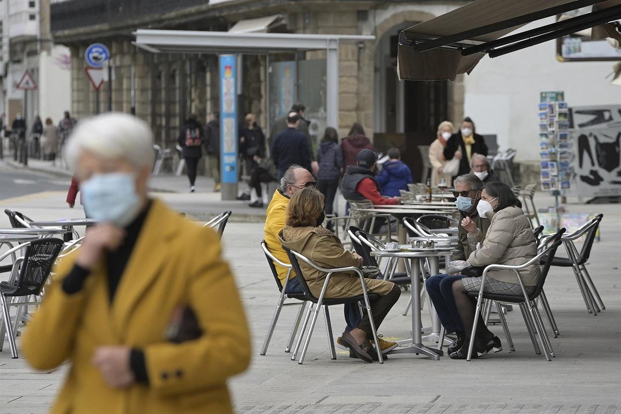 Galicia lucha por evitar una nueva ola, mientras el virus vuelve a sacudir Europa. Foto: Europa Press