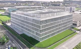 Nuevo edificio de Zara.com, que la compañía inaugurará el próximo 17 de marzo