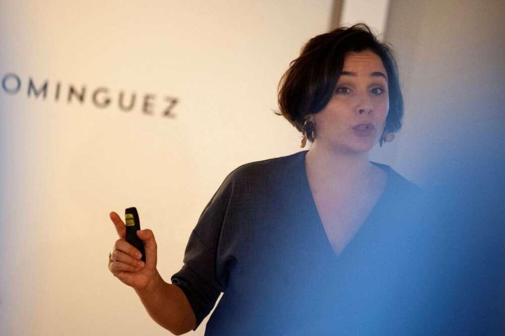 Adriana Domínguez, presidenta ejecutiva de Adolfo Domínguez, anuncia un ERE para el 30% de la plantilla (EFE)