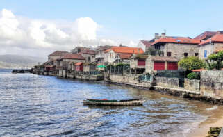 Combarro, en Pontevedra, es una de las localidades más bellas de Galicia