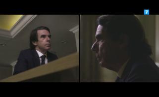 José María Aznar durante una entrevista en La Sexta / Atresmedia