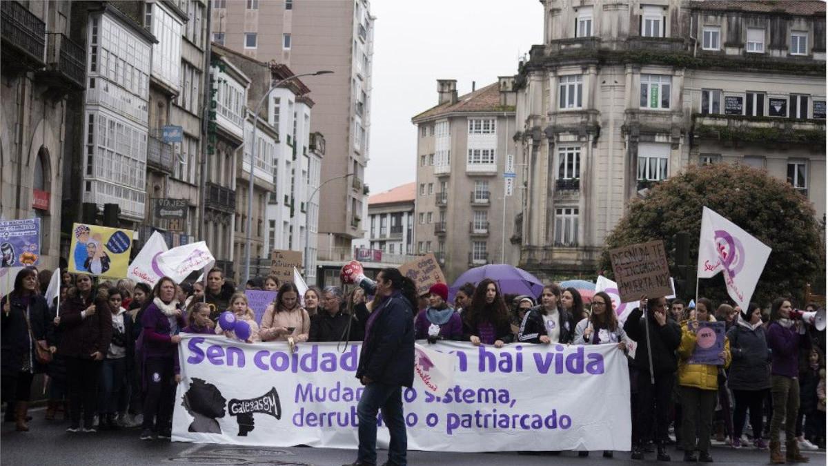 8-M en Galicia
