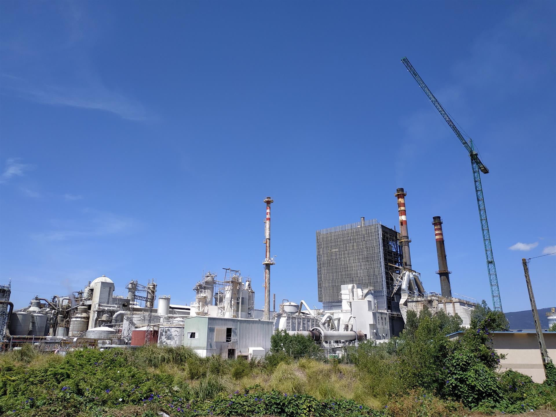 La Fiscalía investiga la seguridad de la fábrica de Ence en Pontevedra