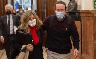 """Yolanda Díaz ejerce de lideresa y marca el camino de Podemos: """"Hechos y no palabras"""""""