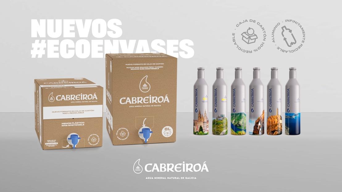 Los nuevos envases sostenibles de Cabreiroá