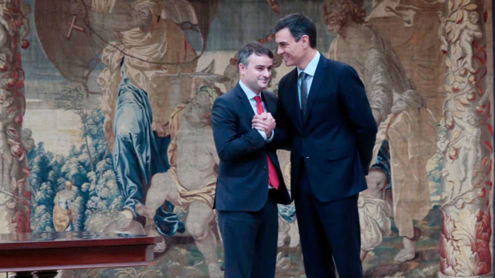 Iván Redondo y Pedro Sánchez / Moncloa