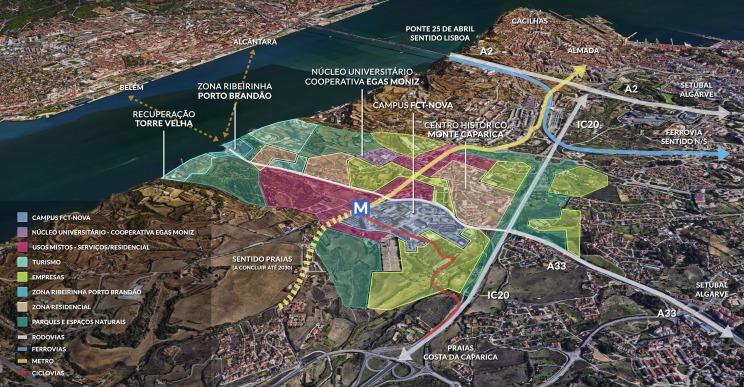 Innovation District de Lisboa, la ciudad de las TIC como la de A Coruña que vale 800 millones