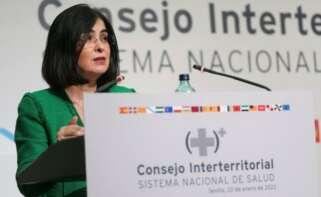 Carolina Darias, ministra de Sanidad / EFE