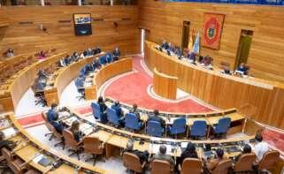 El presidente Feijóo rechaza en el Parlamento cualquier tipo de caso de corrupción desde que está al frente del PP gallego. Foto: Europa Press