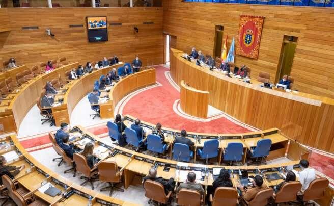 Parlamento de Galicia. Foto: Europa Press
