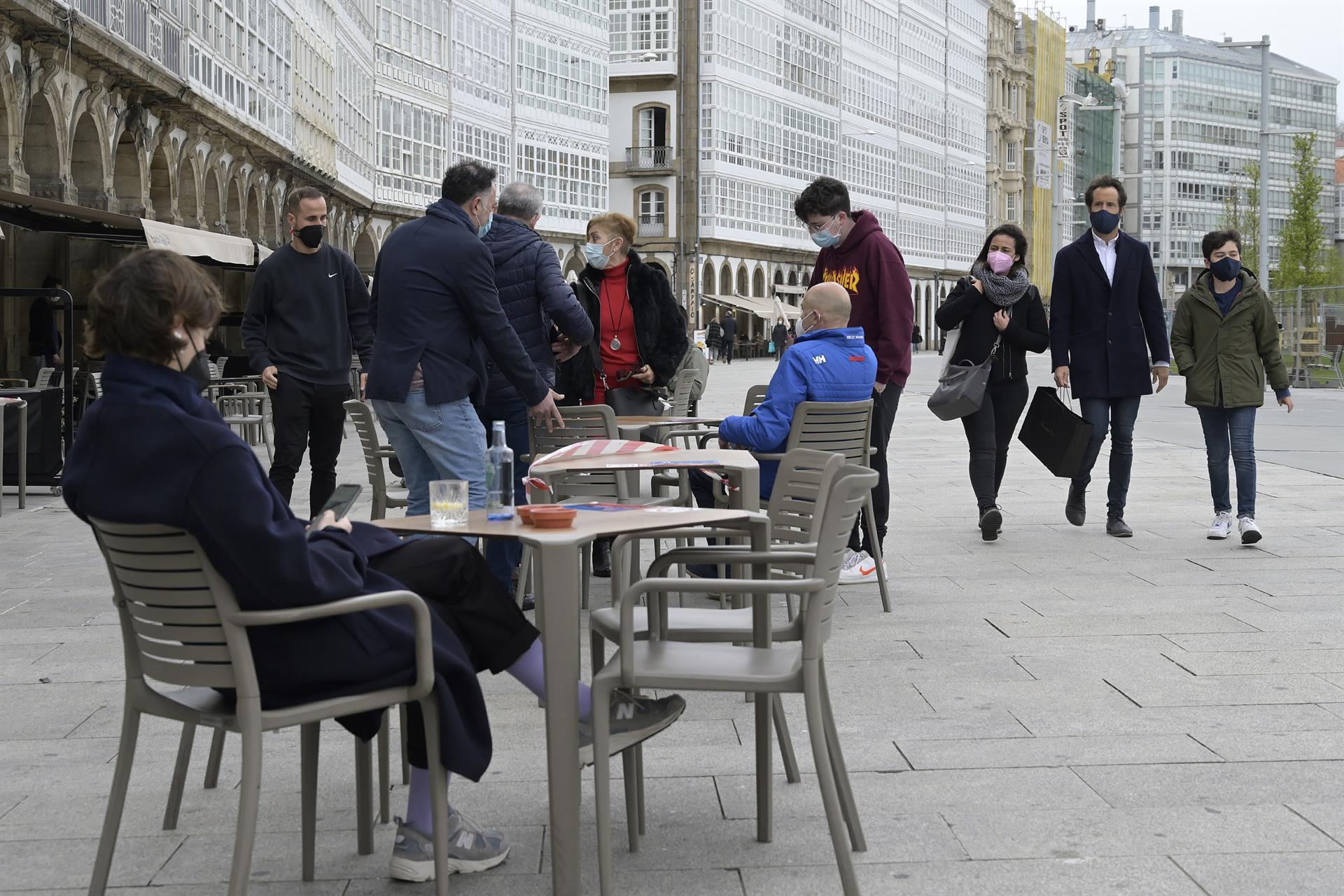 A Coruña es el área sanitaria de Galicia que concentra, a pesar de la desescalada, el mayor número de nuevos contagios. Foto: Europa Press