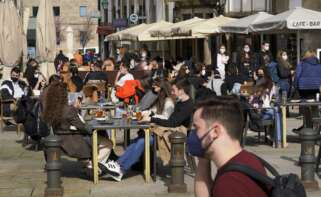 Galicia encara la Semana Santa con buenos indicadores, pero con la necesidad de mantener a la baja la tasa de contagios. Foto: Europa Press
