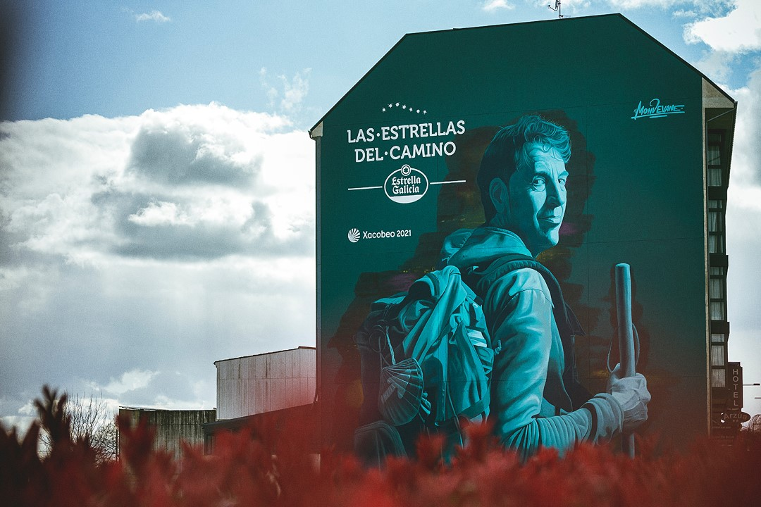 La Ruta Xacobea es un lienzo: Estrella Galicia impulsa una exposición de 140 kilómetros