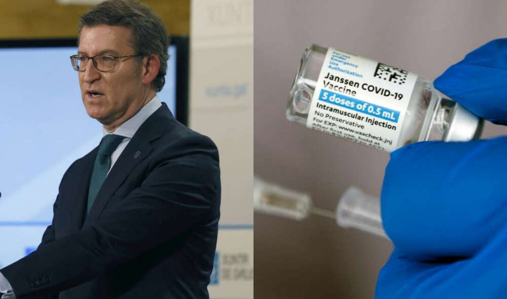 El retraso de la vacuna Janssen trunca el plan de inmunización de Feijóo