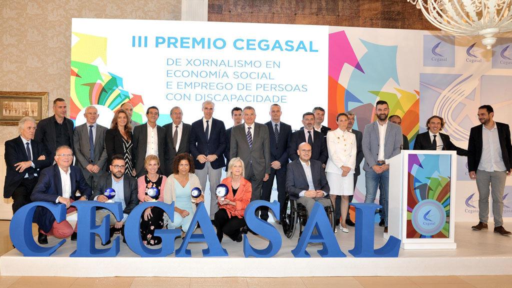Cegasal es una entidad pionera de la economía social, donde todos los beneficios se reinvierten en la empresa o en empleo