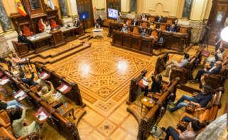 Pleno del Concello da Coruña