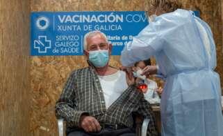 Covid en Galicia: el 45% de la población diana ya ha recibido al menos una vacuna