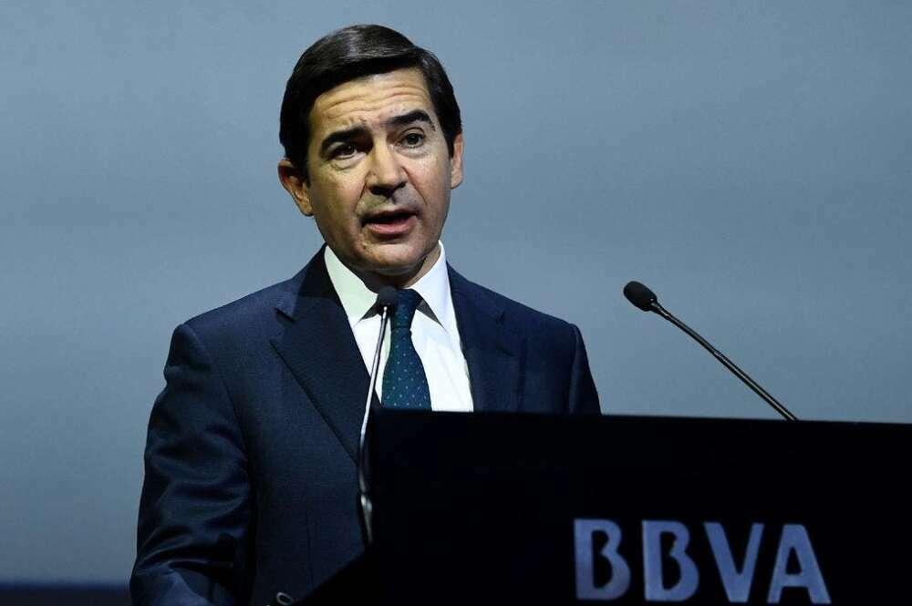 Carlos Torres, presidente del BBVA. EFE
