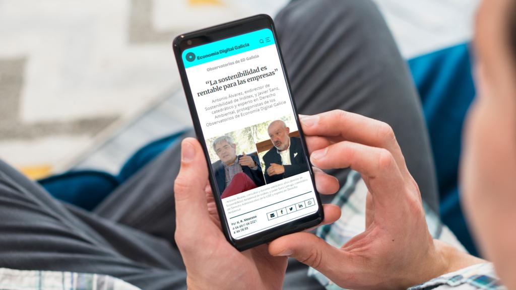 Economía Digital Galicia, por encima de los 500.000 usuarios únicos al mes en 2021