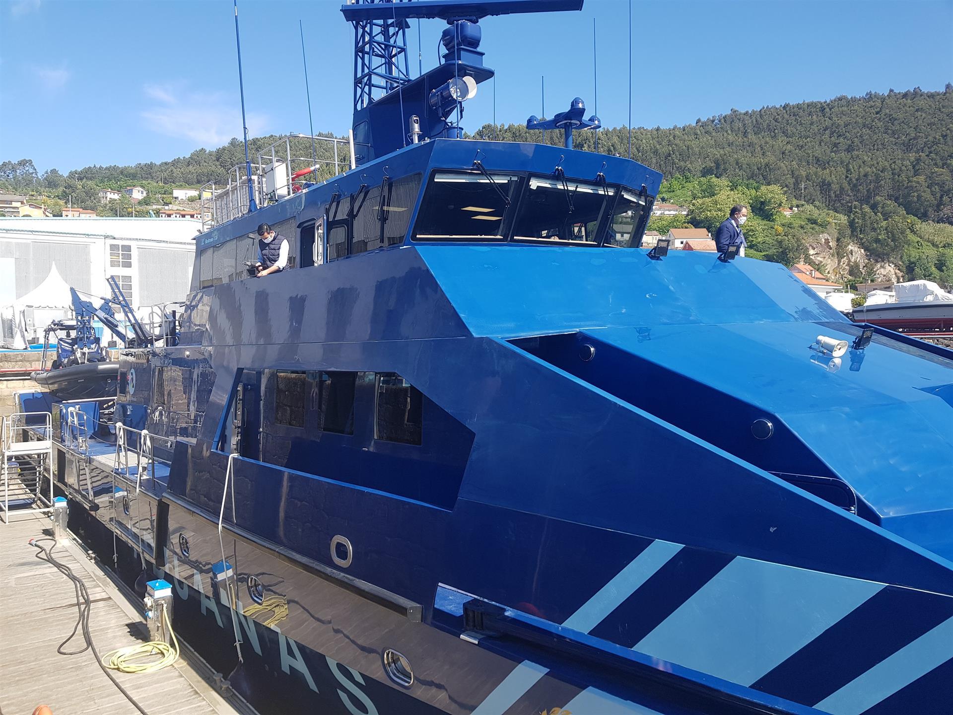 El nuevo patrullero polivalente de la Agencia Tributaria, 'Condor', construido en el astillero Rodman - EP