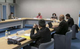 La conselleira del Mar participó en la reunión del grupo de trabajo sobre el brexit creado en el Consello Galego de Pesca / Conchi Paz