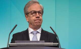 El presidente de la Junta Ejecutiva de Norges Bank, Oysten Olsen. EFE