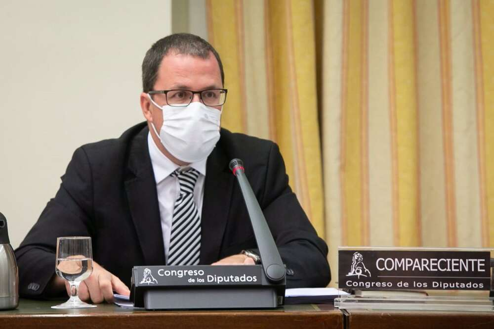 El secretario general de Industria y pyme, Raül Blanco, en el Congreso. Foto: Europa Press