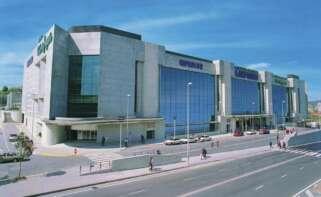 Centro comercial de El Corte Inglés en Santiago de Compostela