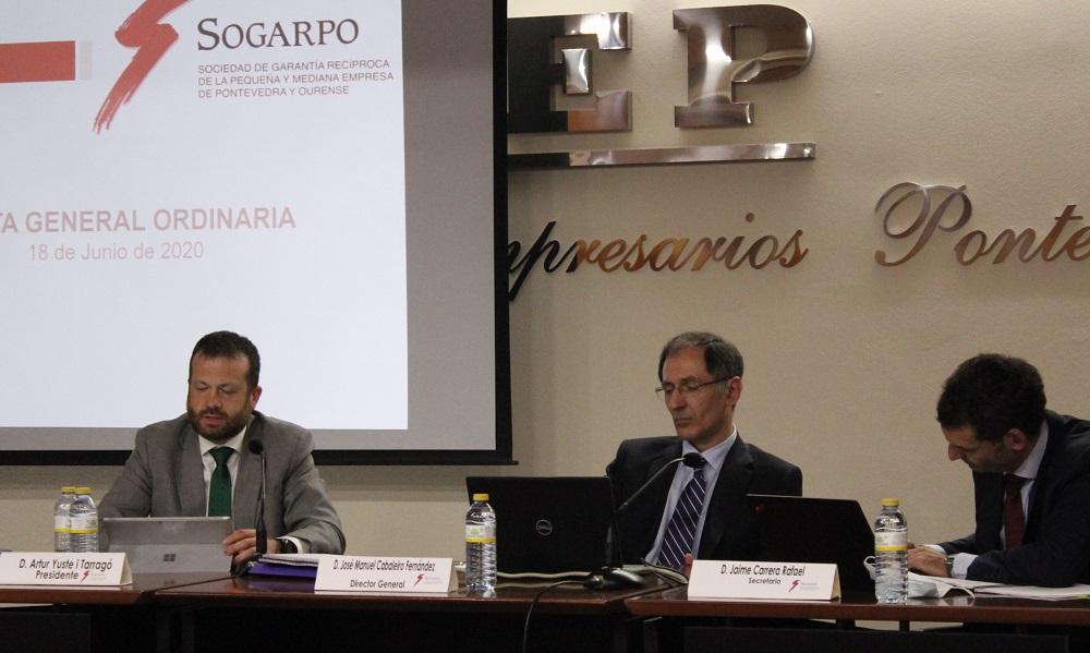 Sogarpo ha ayudado a más de mil empresas, pymes y autónomos durante el año de la crisis del Covid