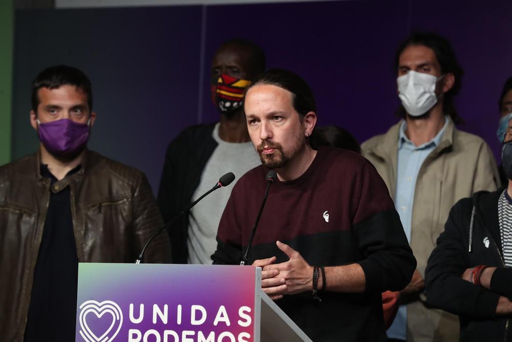 Pablo Iglesias deja la politica tras el fracaso de la izquierda en Madrid