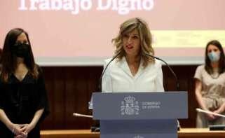 Yolanda Díaz e Ione Belarra, la bicefalia que construye Podemos para suceder a Pablo Iglesias