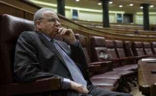 Alfonso Guerra en el Congreso / EFE