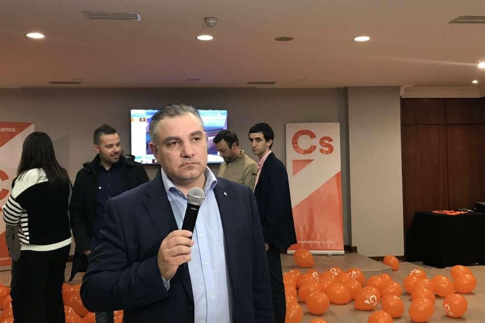 Laureano Bermejo, quien fue secretario de organización de Ciudadanos en Galicia, deja el partido pero se suma al grupo de no adscritos, que ya son cinco