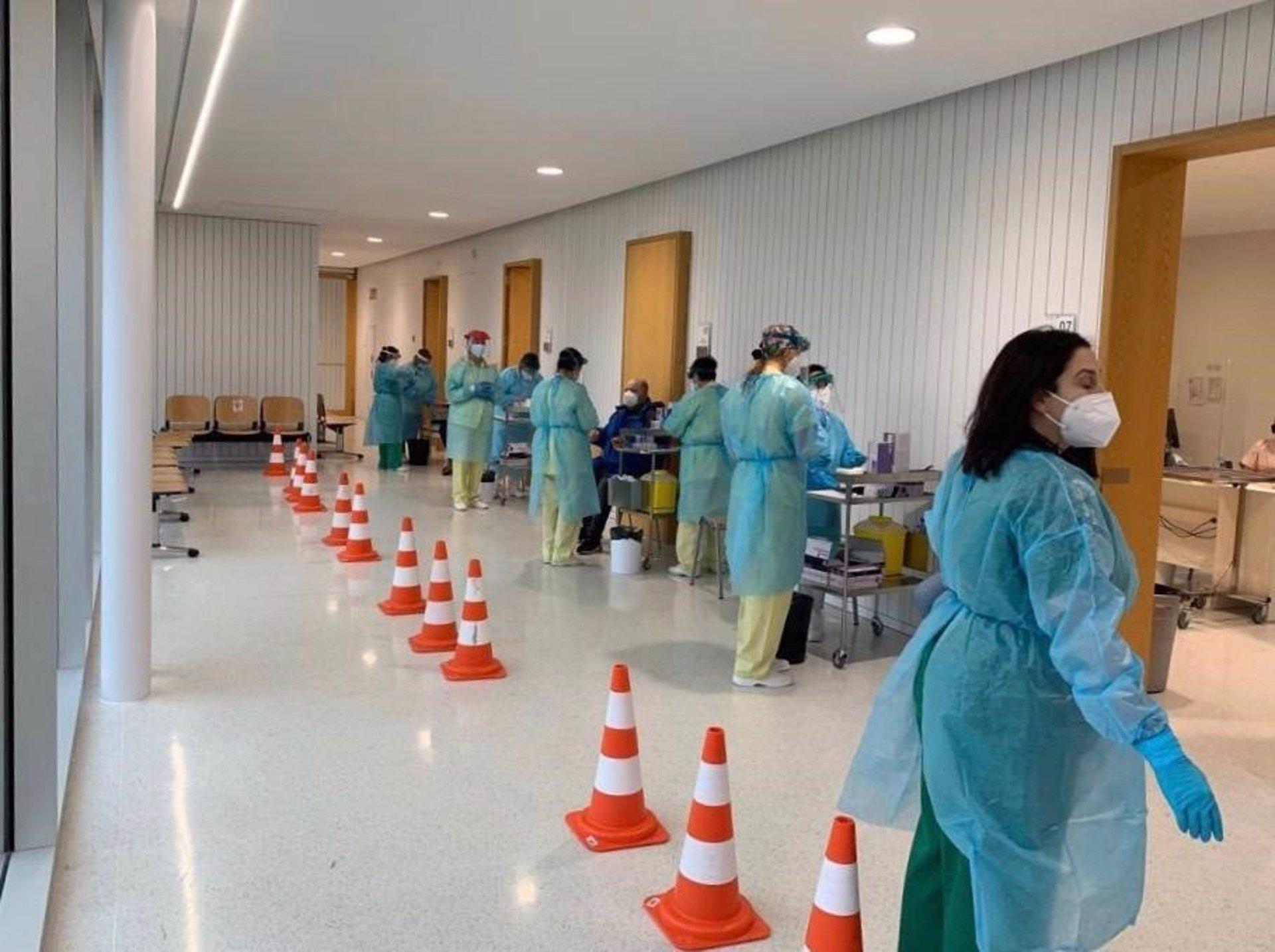 Un cribado para detectar casos de Covid en el área sanitaria de Santiago y Barbanza. SALUD ESPAÑA EUROPA GALICIA ÁREA SANITARIA DE SANTIAGO