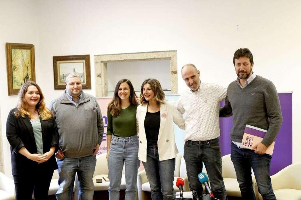 BNG y Podemos abren un frente contra Pedro Sánchez y piden una moratoria eólica en Galicia
