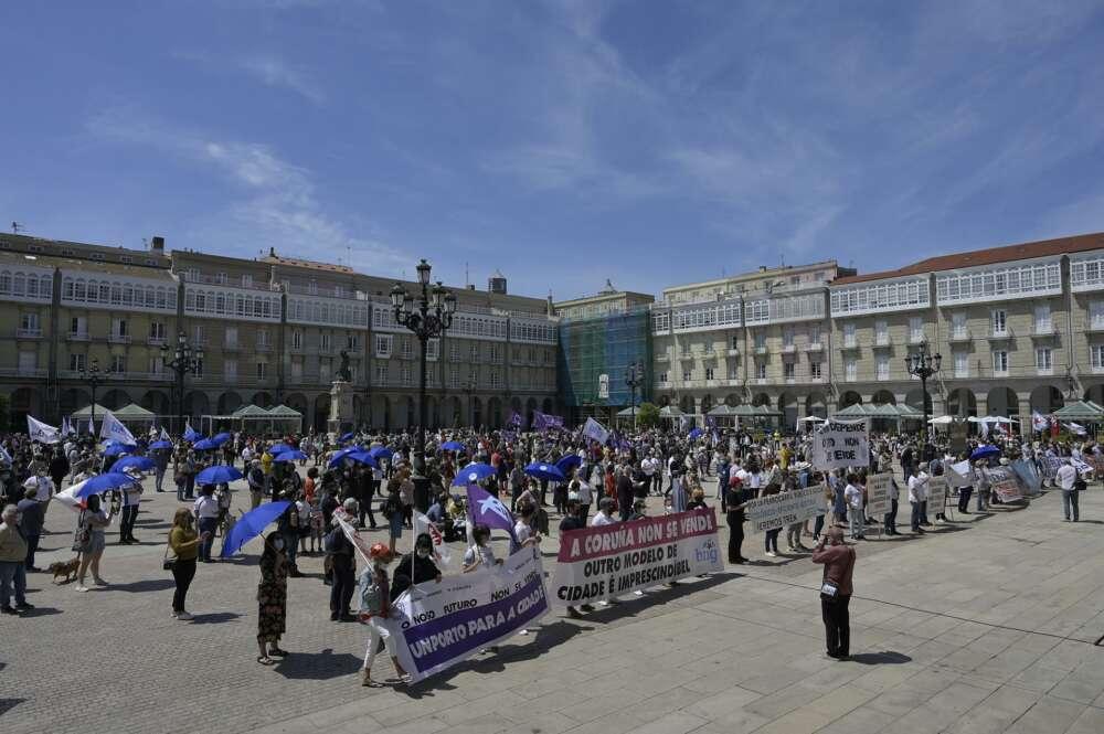 Puerto A Coruña