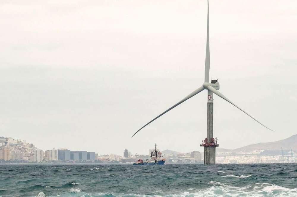 Greenalia lanza un proyecto para el desarrollo industrial de la eólica marina / EFE