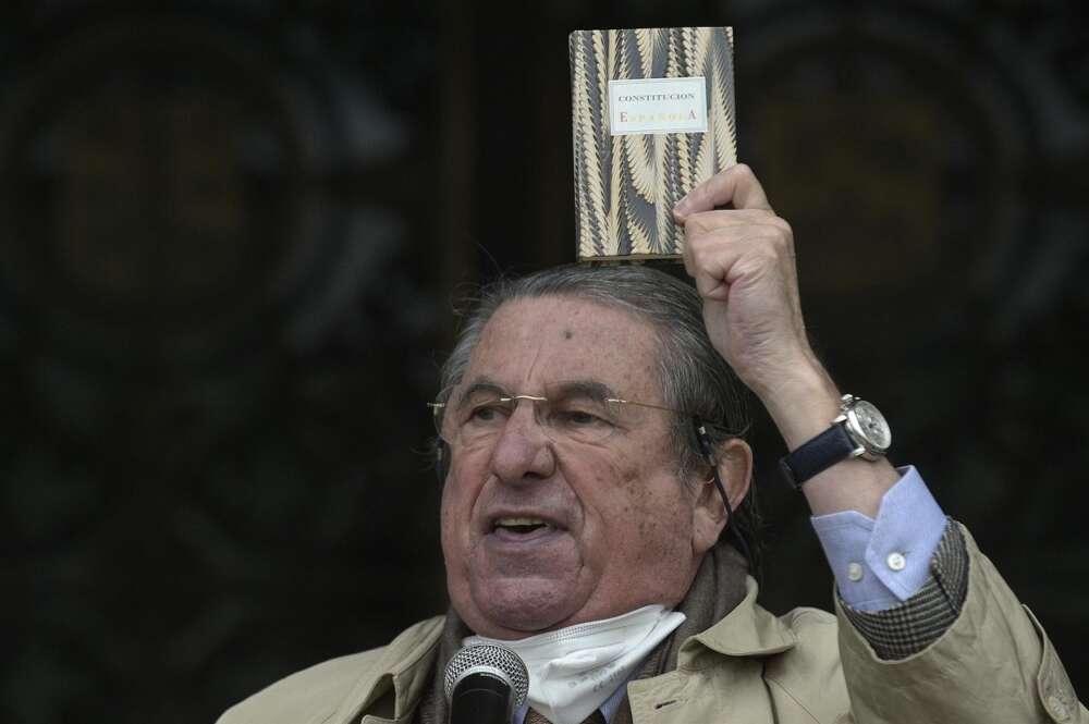 El exalcalde de A Coruña, Paco Vázquez, en un acto en defensa de la Constitución. Foto: Europa Press