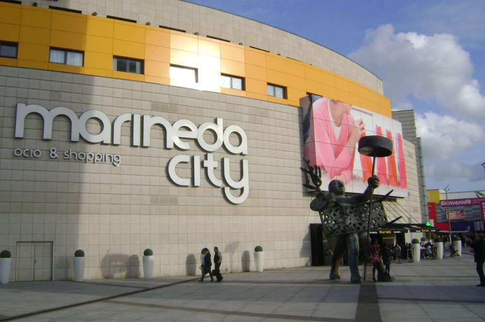 Centro comercial Marineda City en A Coruña / Wikipedia