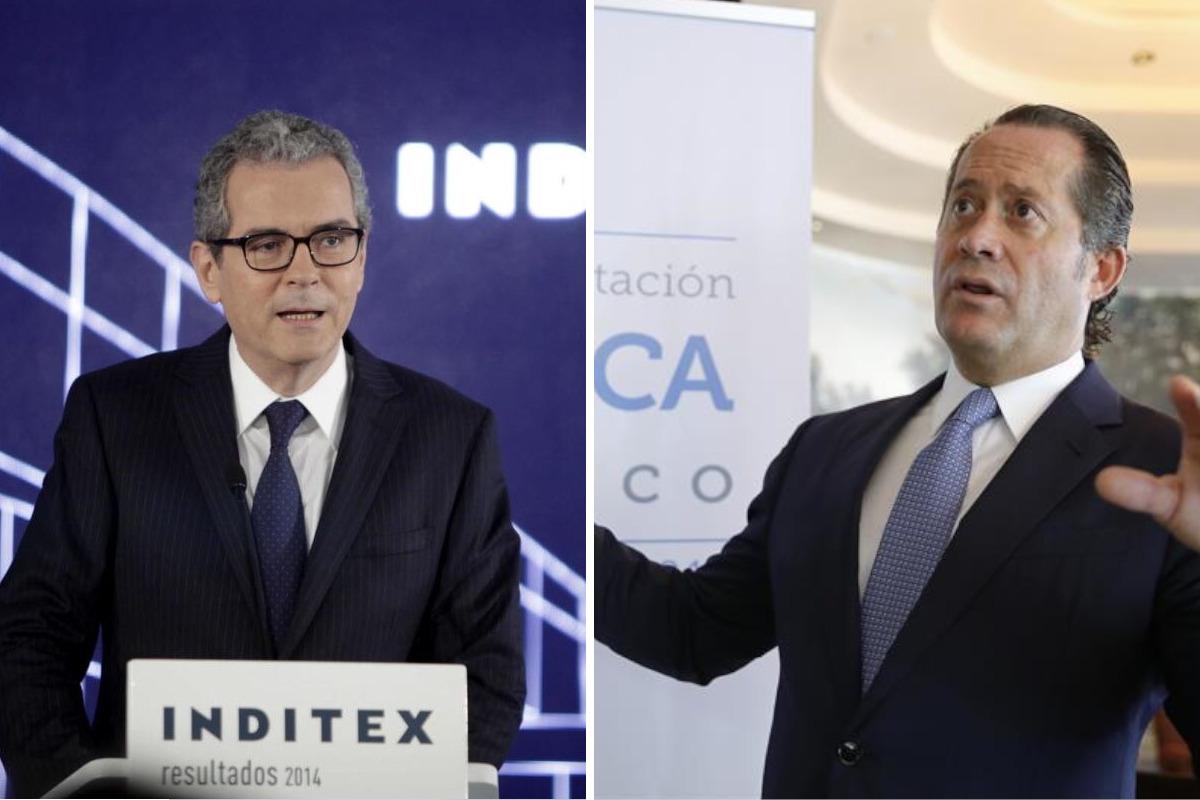 Pablo Isla y Juan Carlos Escotet, presidentes de Inditex y Abanca