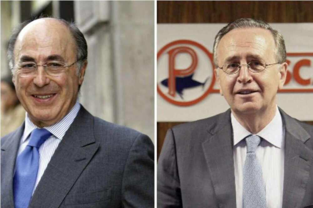 Alfonso Paz-Andrade y Manuel Fernández de Sousa