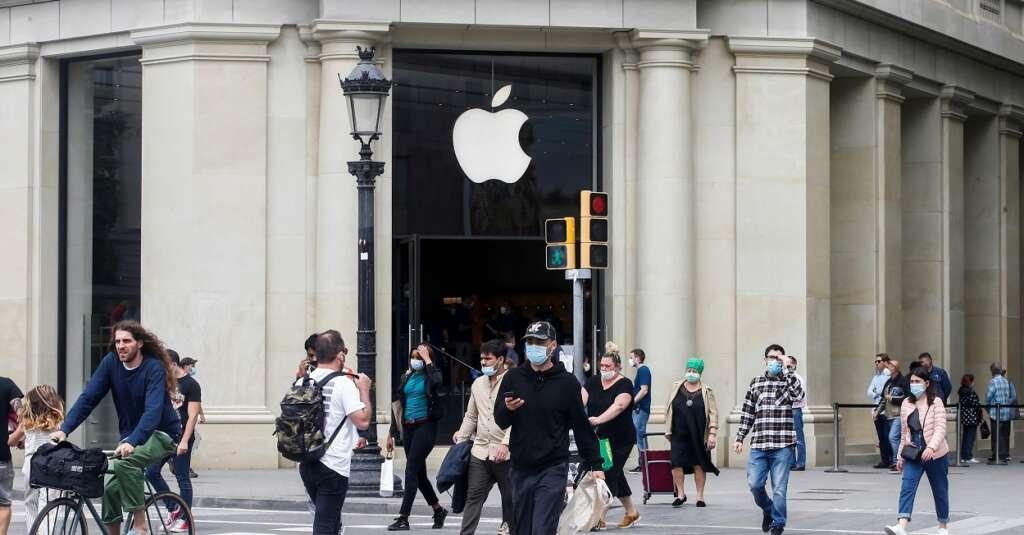 Amancio Ortega blinda su ladrillo con Amazon, Apple y Google, las tres marcas más valiosas del mundo
