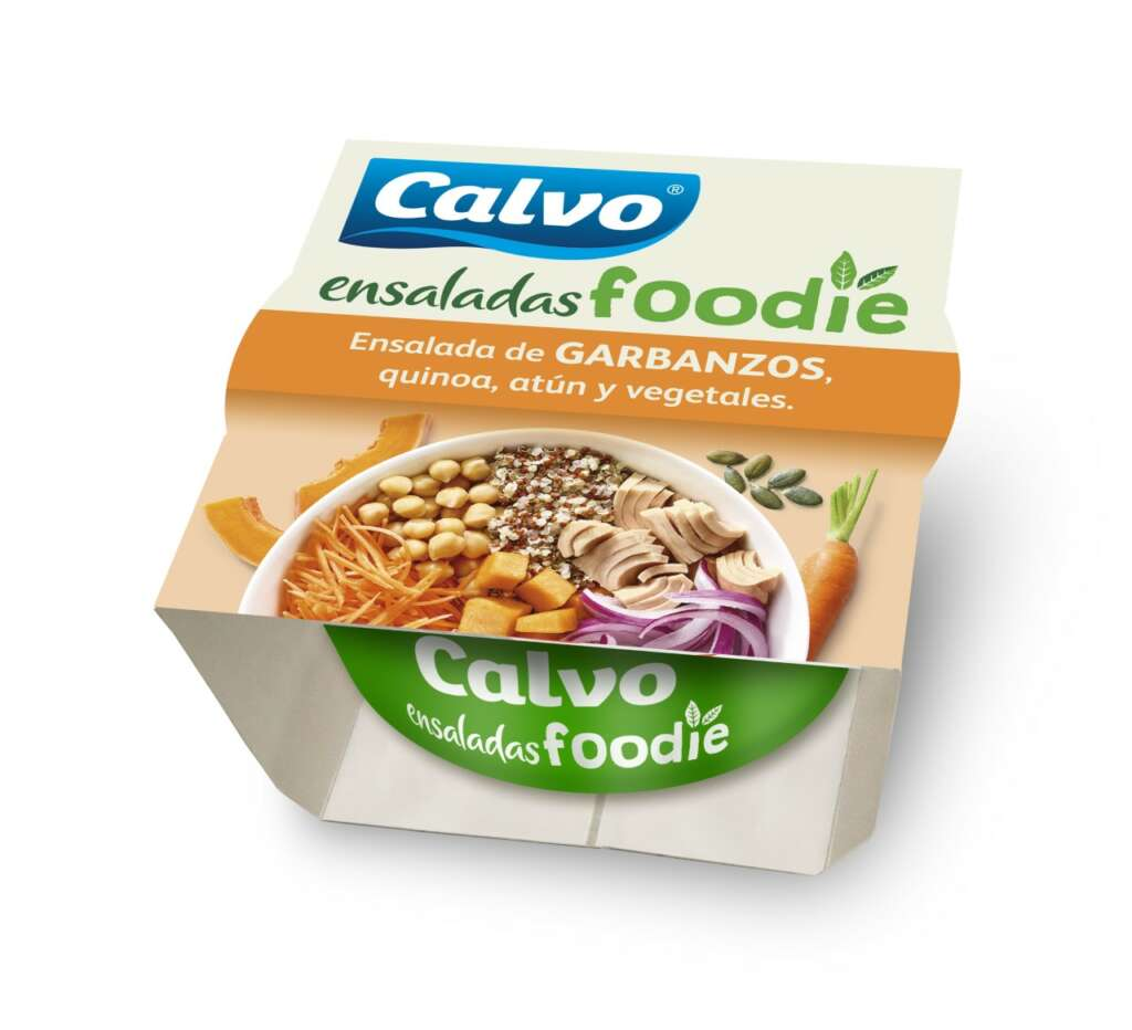Grupo Calvo hace sostenibles sus ensaladas más populares