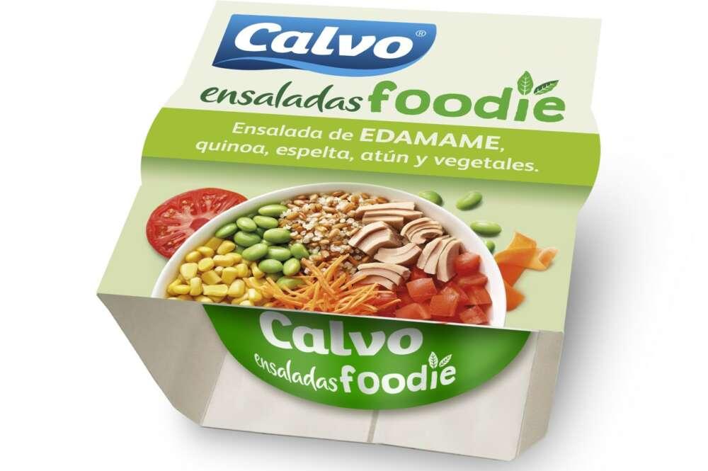 Las Ensaladas Foodie Grupo Calvo tendrán un envase totalmente sostenible al eliminar el plástico