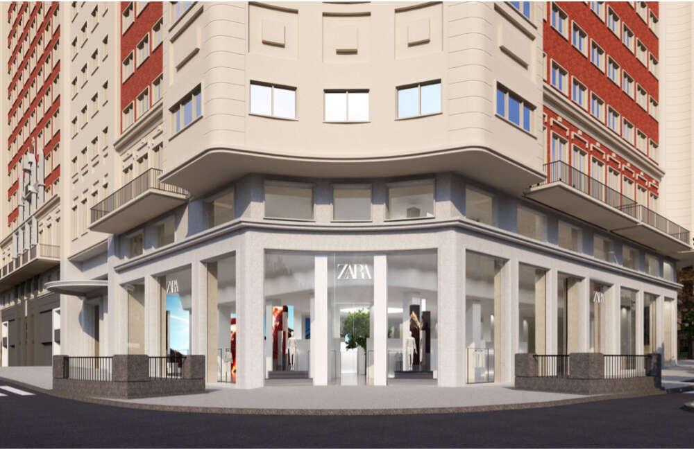 Inditex ocupa más de la mitad del Edificio España de Madrid con un Zara de 8.000 metros cuadrados
