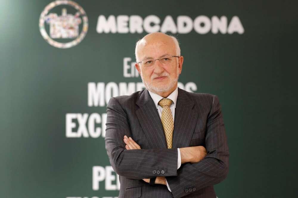 El presidente de Mercadona, Juan Roig. EFE/Ana Escobar
