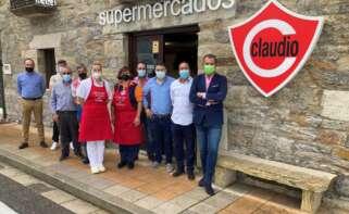 Gadisa continúa su expansión y abre un supermercado Claudio en O Cebreiro
